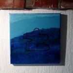 Blåt maleri