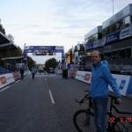 Geels Bakke ved VM i cykling