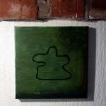 Grønt maleri