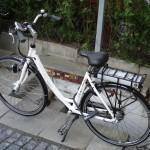 Ny el-cykel