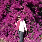 Trine i blomster